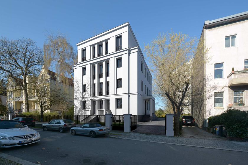 Neubau eines Stadtpalais als Wohn- und Geschäftshaus