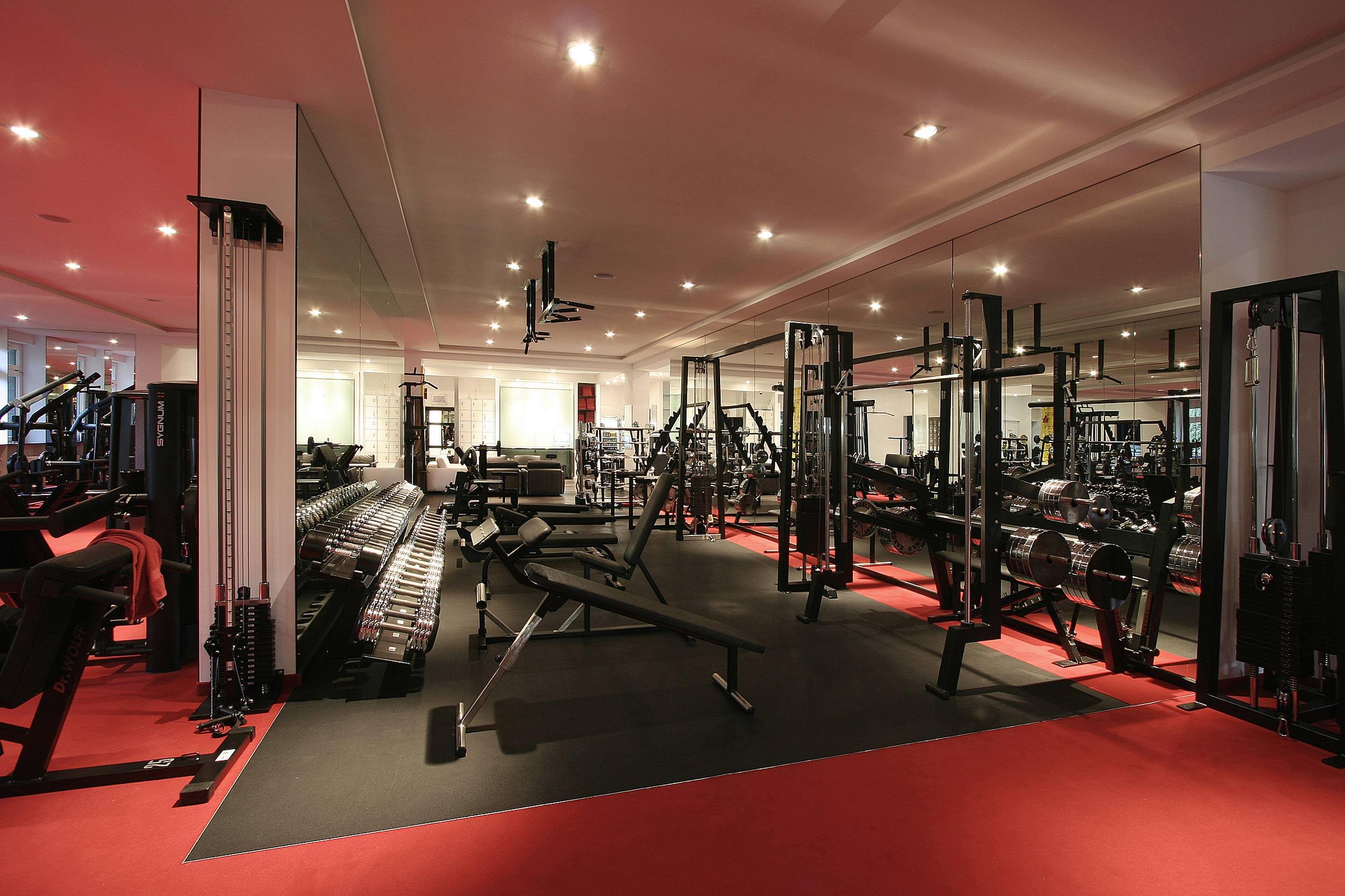 Das Design des Clubs gewährleistet optimal abgestimmte Trainingsbedingungen.