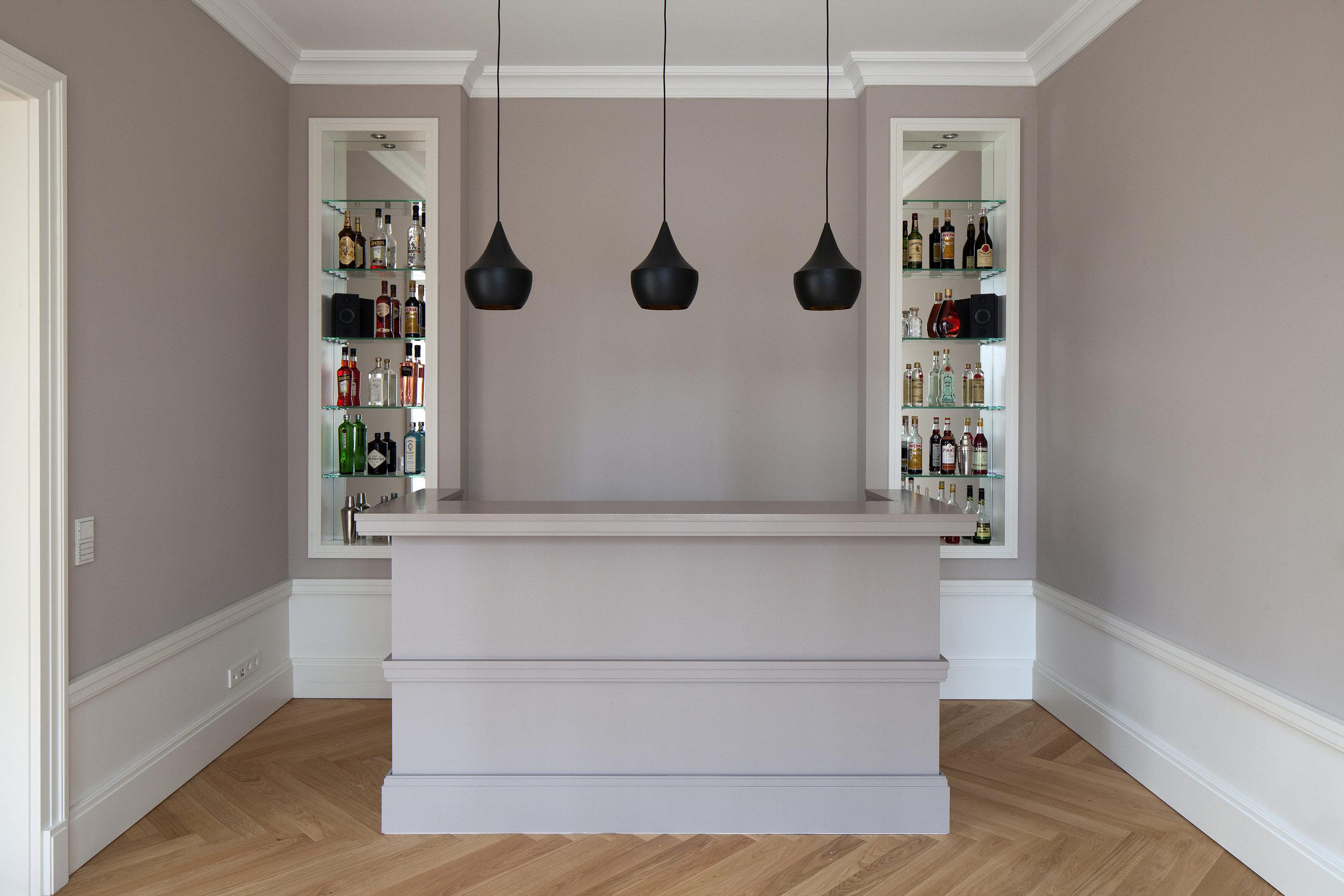 mut zur symmetrie neubau klassizistische villa cg. Black Bedroom Furniture Sets. Home Design Ideas