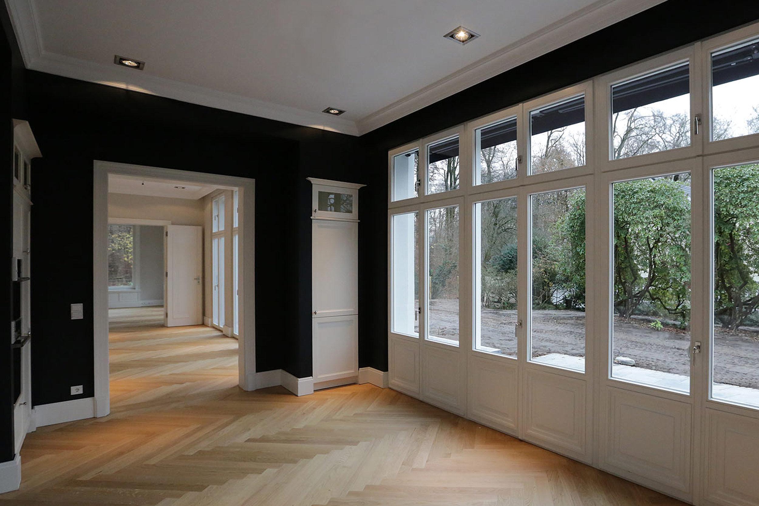 Enfilade - Verbindung der Räume – Neubau einer klassizistischen Villa
