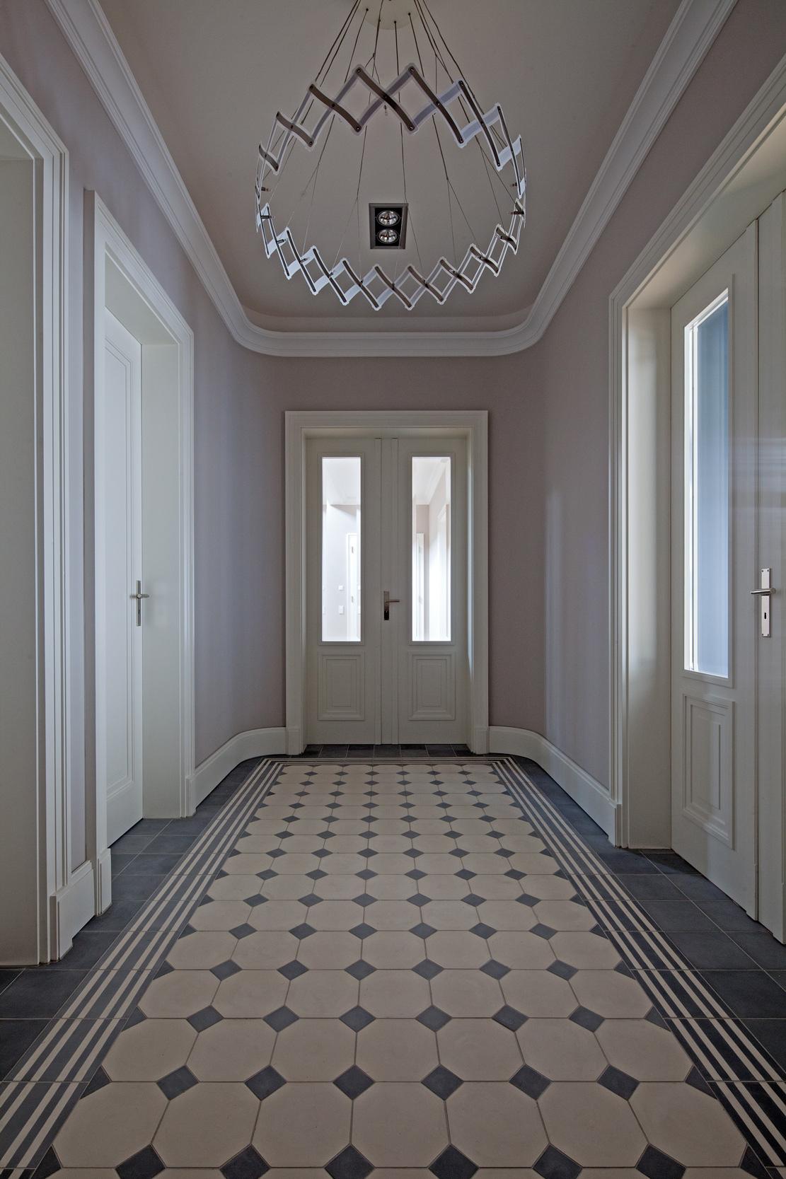 Moderner Stuck mut zur symmetrie neubau klassizistische villa cg vogel