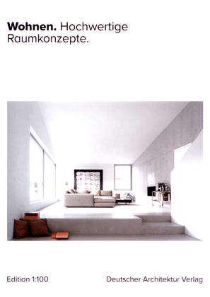 Veröffentlichung Hochwertige Wohnkonzepte Carsten Vogel Architekt Deutscher Architekturverlag