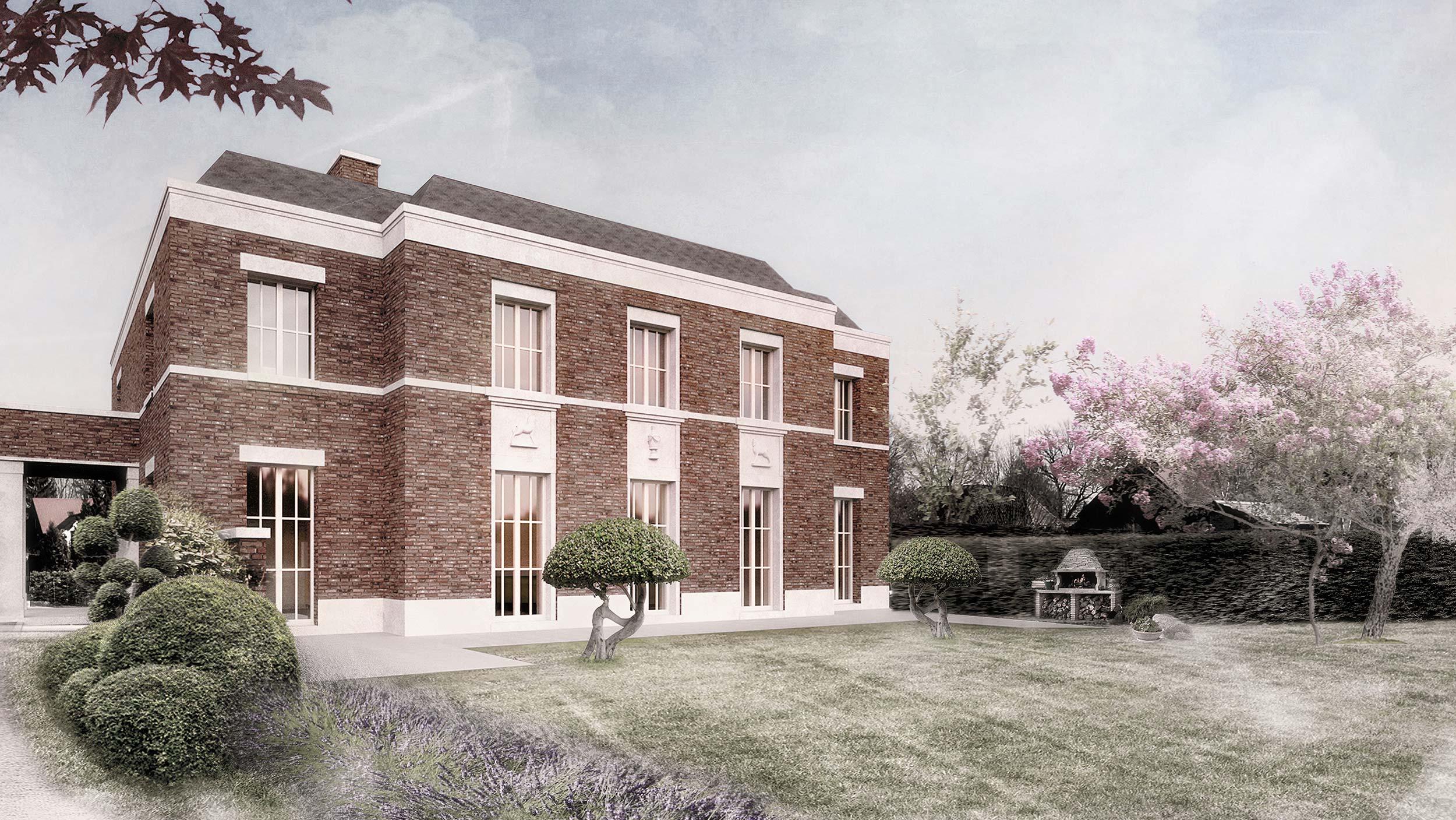 very british traditionelle landhausvilla aus backstein im englischen stil. Black Bedroom Furniture Sets. Home Design Ideas