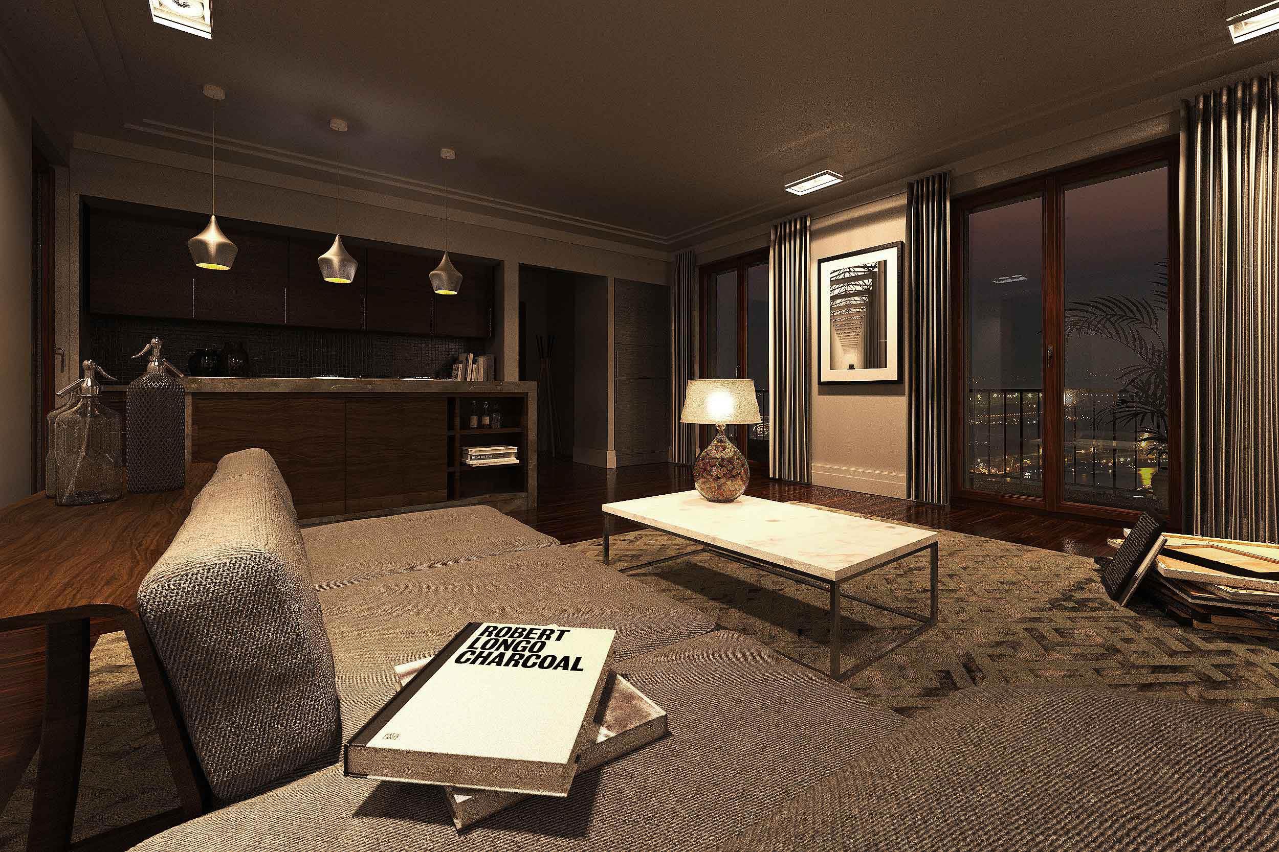 GOETHE RESIDENZEN - Neubau eines Appartementhauses mit exklusiven Wohnungen - Alle Wohnlofts sind exklusiv in europäischem Standard ausgestattet.