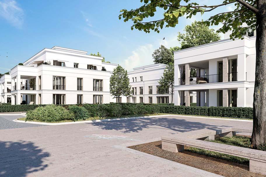 Neubauprojekt eines Wohnquartiers mit 42 Eigentumswohnungen - Wohnpark Schwachhauser Heerstraße
