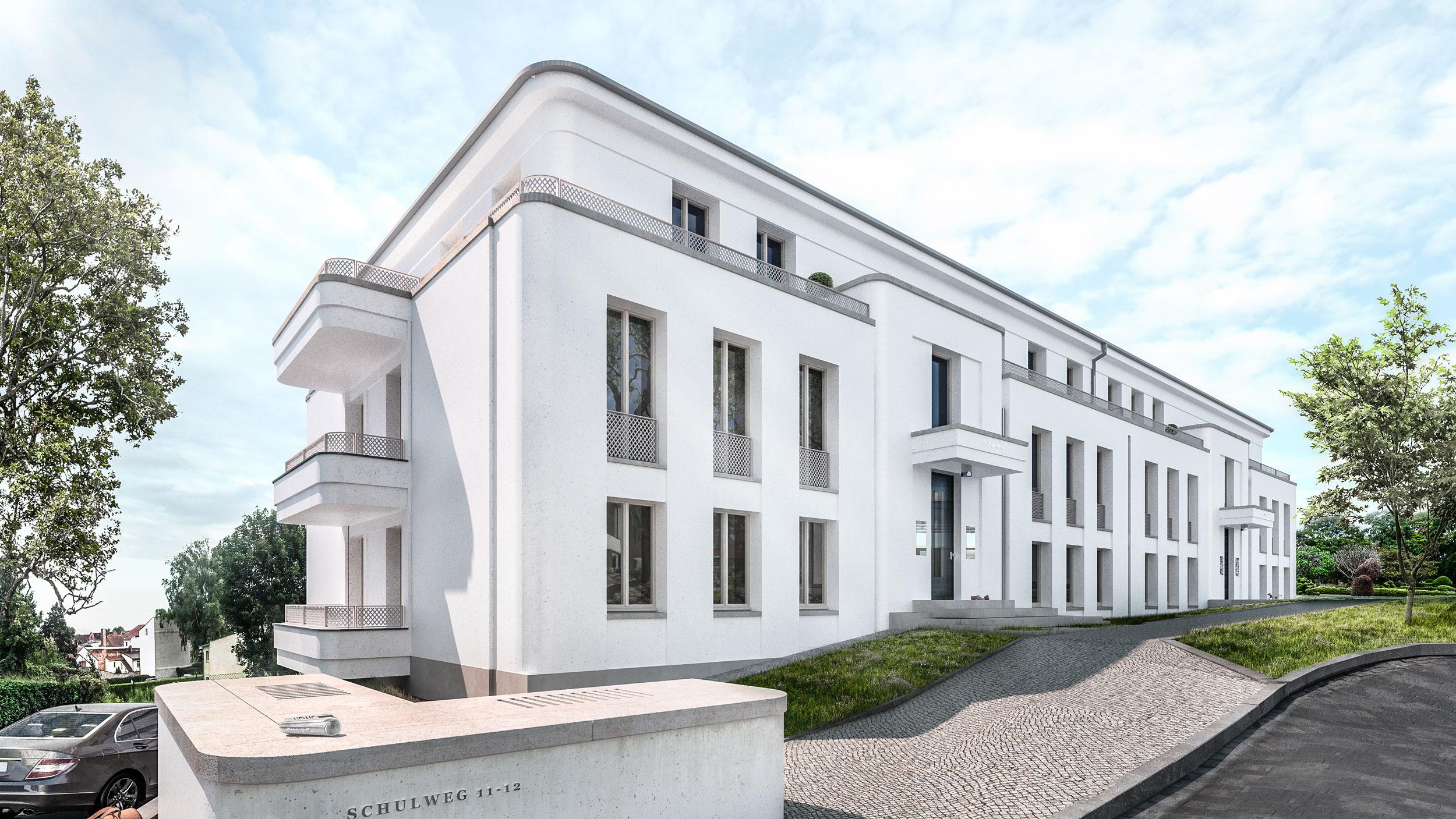 Wohnungsbauprojekt Residenzen am Funkerberg - Neubau von Appartements bei Berlin