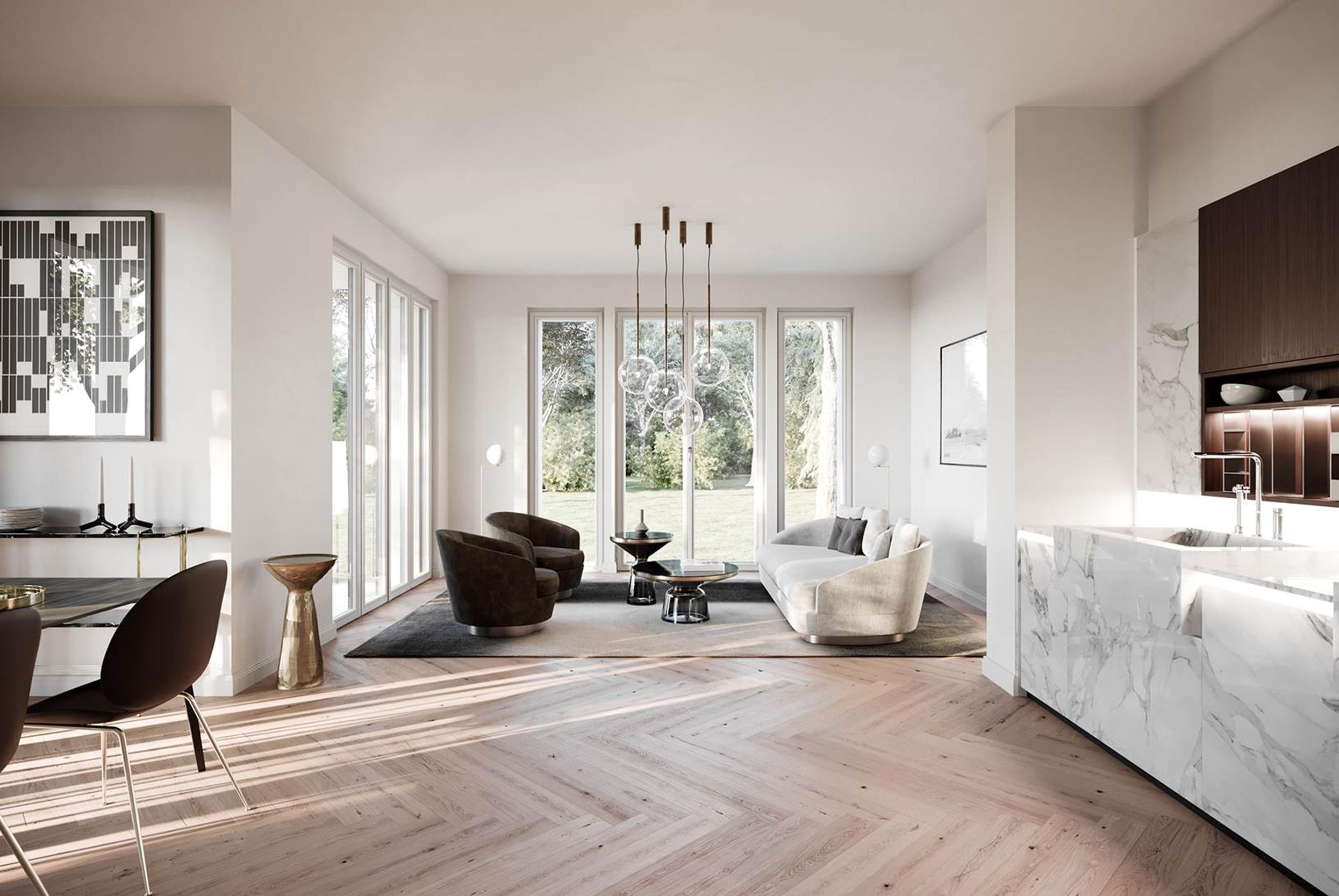 podbielski 38 klassische stadtvilla mit modernen eigentumswohnungen. Black Bedroom Furniture Sets. Home Design Ideas