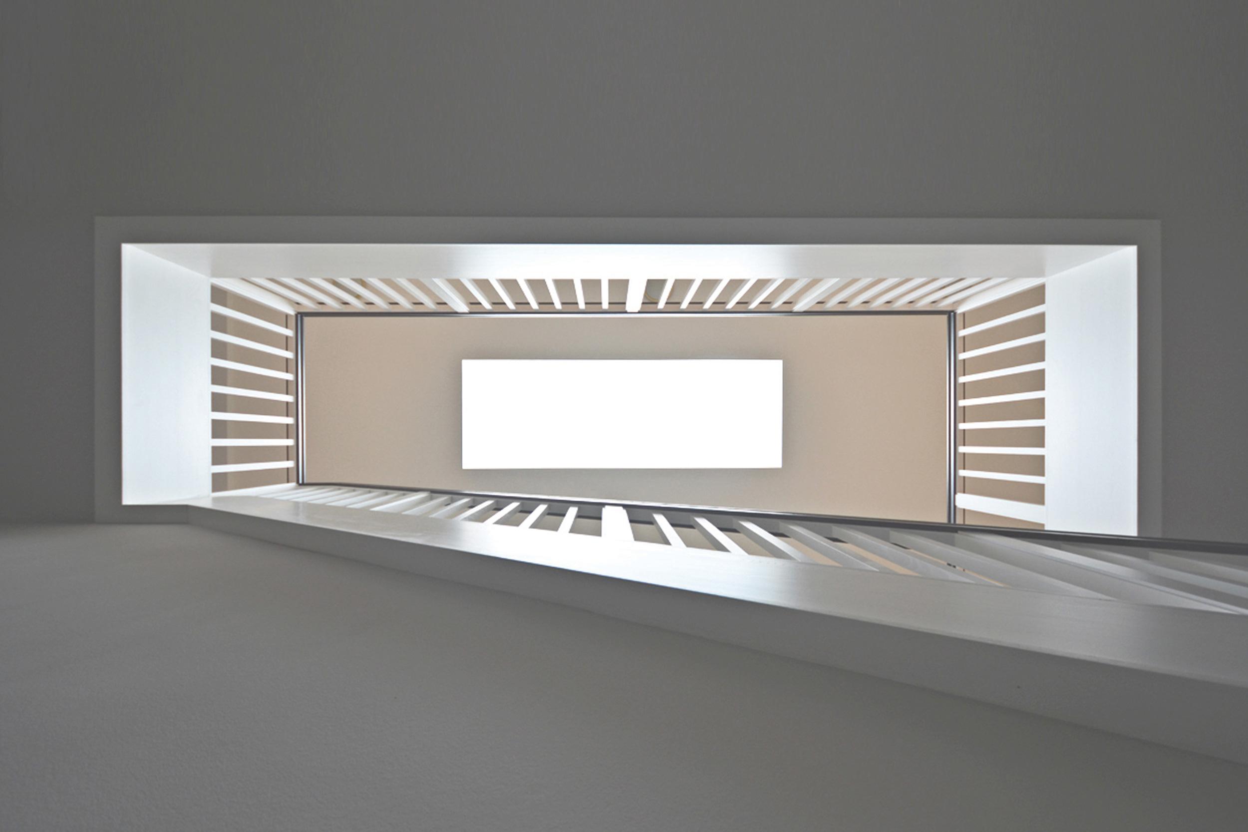 Belichtung über Oberlicht - Villa im klassisch traditionellem Stil