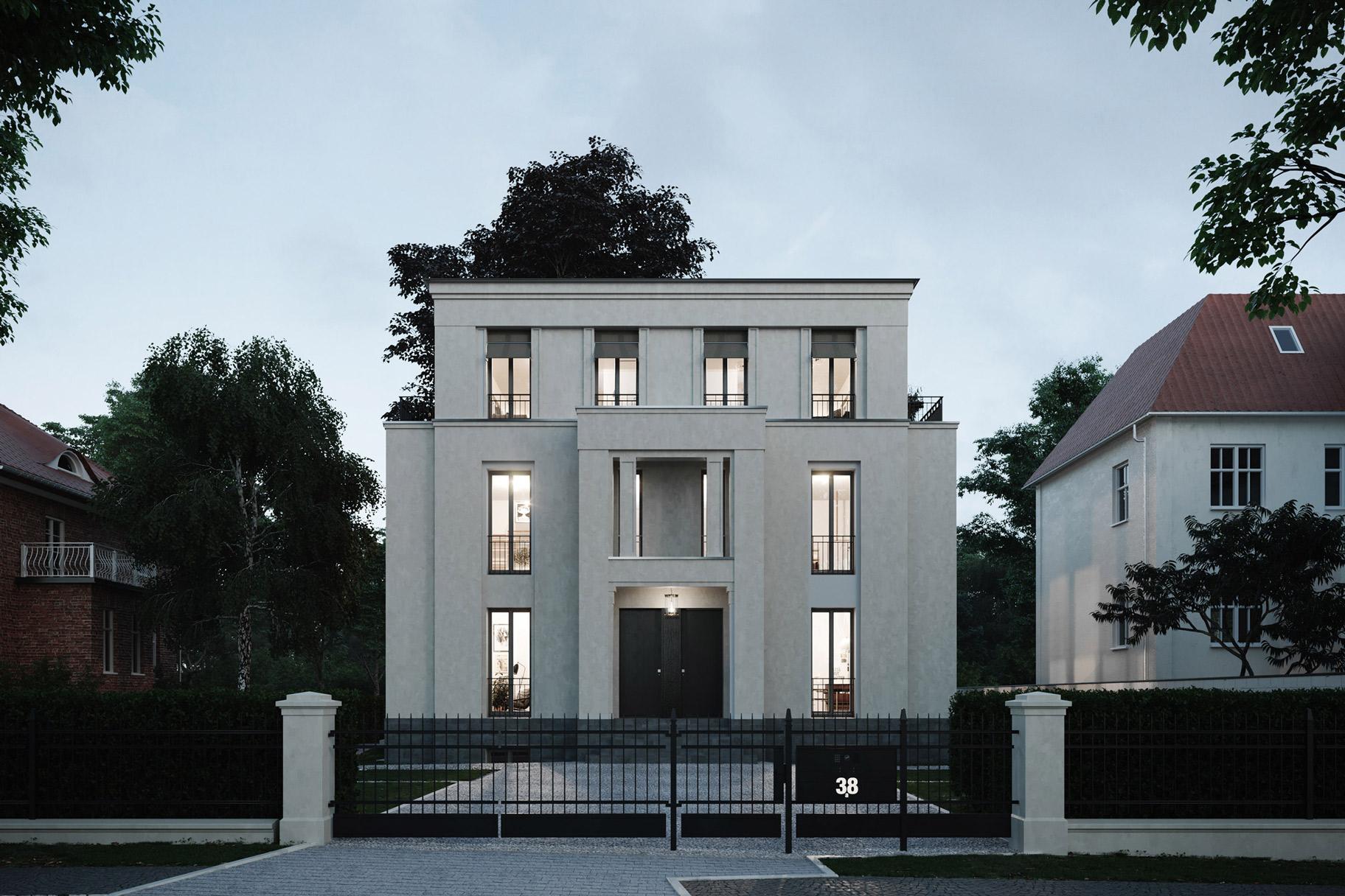 Podbielski 38 - Klassische Stadtvilla mit modernen Eigentumswohnungen in Berlin-Dahlem