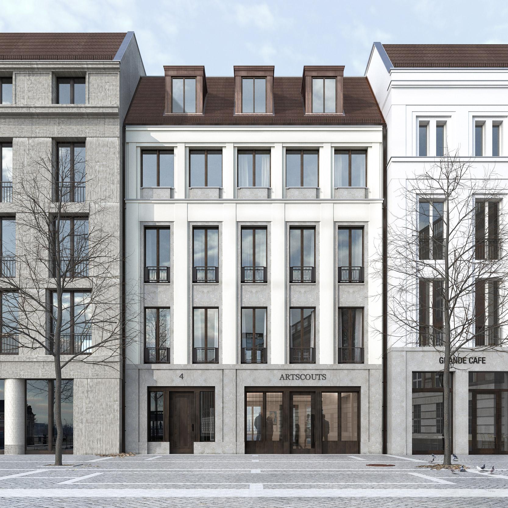 Neubau eines städtischen Wohnhauses am Steubenplatz - NEUE MITTE POTSDAM
