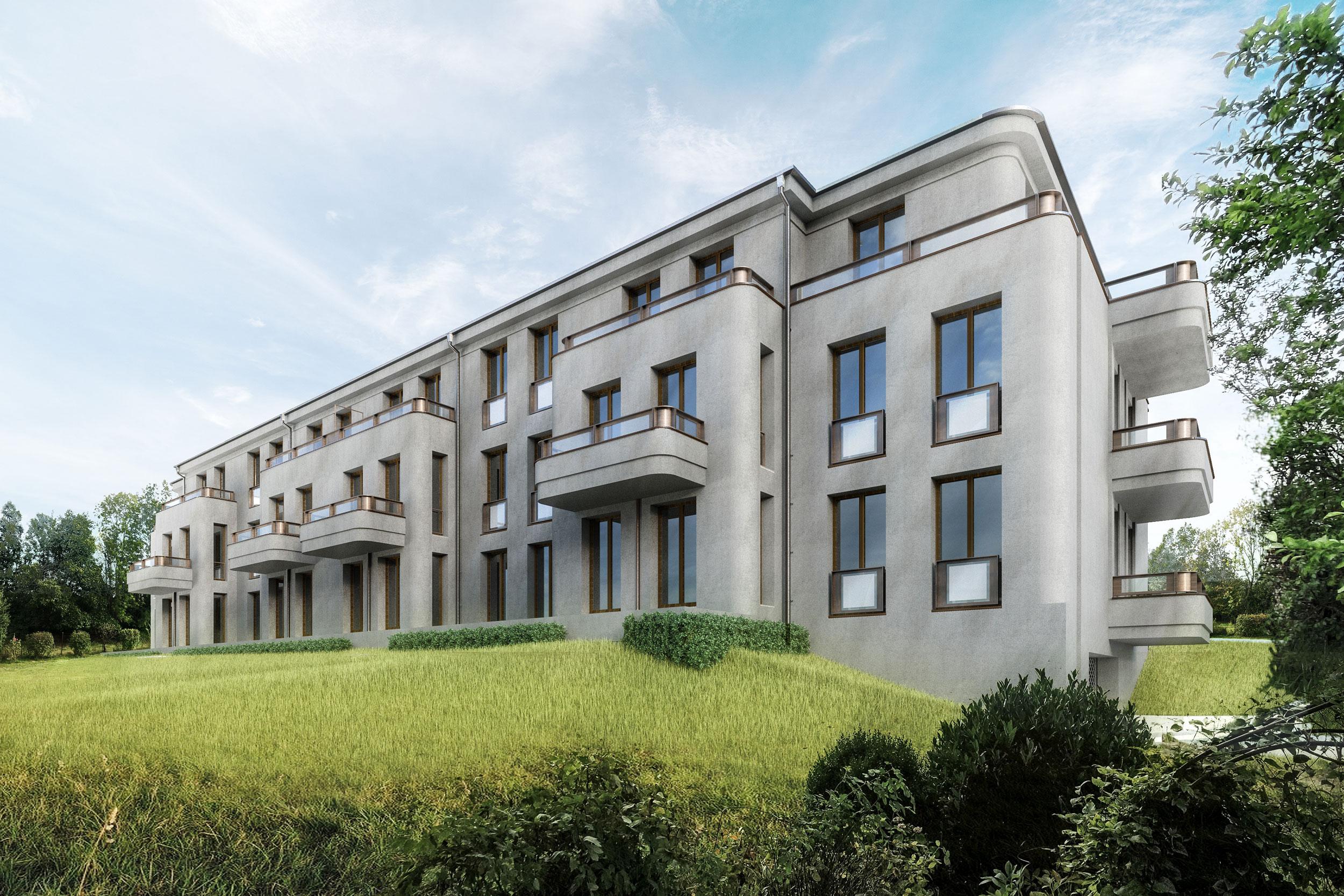 Eine Apartmentanlage mit exklusiven Wohnungen und zeitgemäßem Komfort
